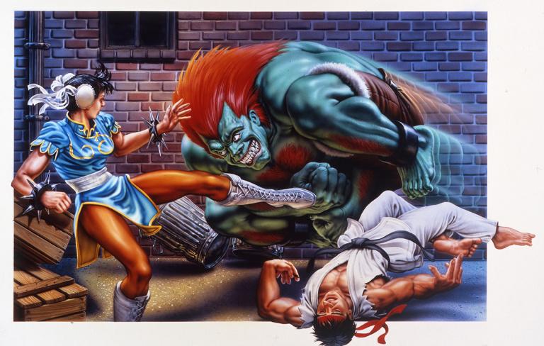 Mick McGinty : Le célèbre illustrateur de Street Fighter et Streets of Rage nous a quitté
