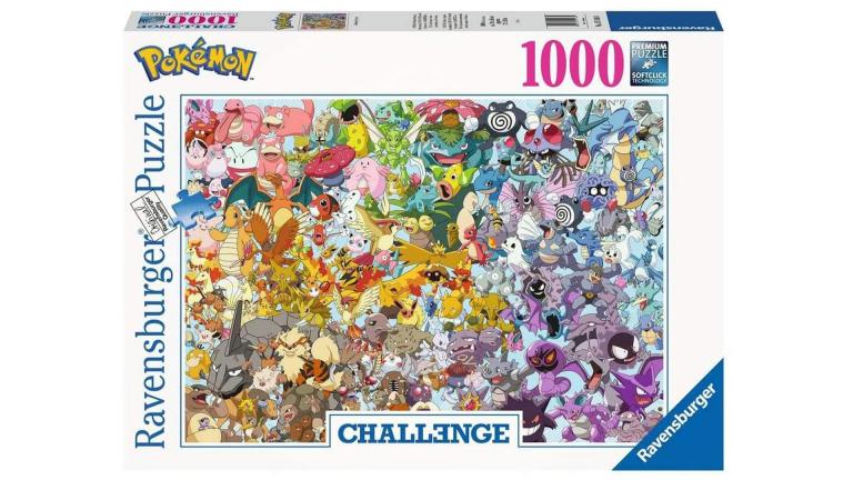 Ce puzzle Pokémon, réputé impossible à finir, est en promo