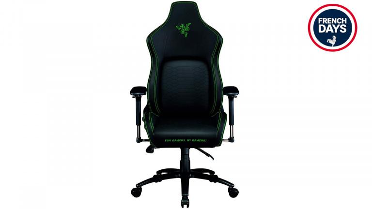 200€ de réduction sur la chaise gamer Razer Iskur pour les French Days