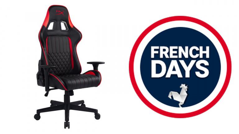 French Days 2021 : les chaises gamer Hyper X en promotion à la FNAC