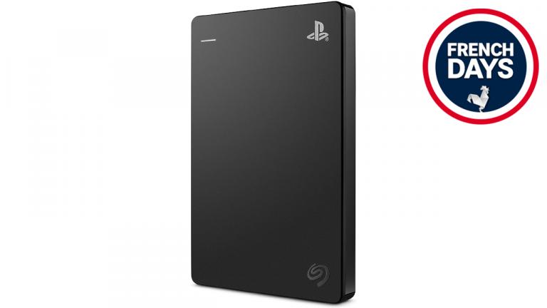French Days : Disque dur externe officiel PS4 et PS5, son prix est en chute libre !