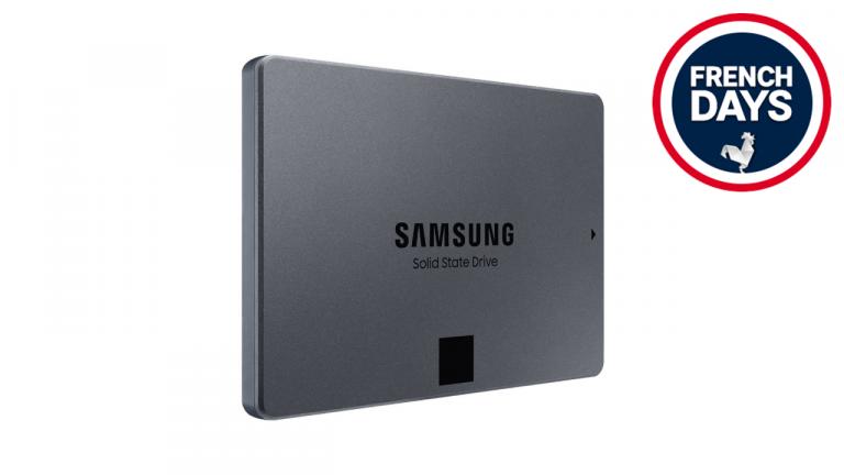 Ce SSD SATA Samsung est idéal pour les vieux PC et il est en promo pour les French Days