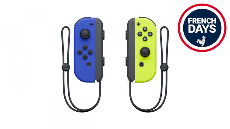 French Days Nintendo Switch : Les manettes officielles joy-cons sont à -32%