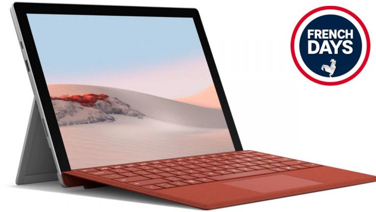 French Days 2021 : La Microsoft Surface Pro passe sous les 800€ !