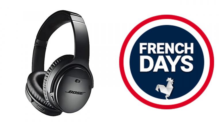 French Days 2021 : Jolie promo sur le casque Bluetooth Bose QC 35 II