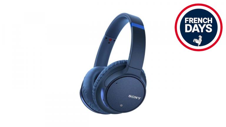 French Days : Le casque bluetooth Sony est à seulement 59€ et avec réduction de bruit !