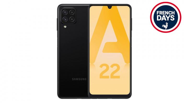French Days : Le nouveau smartphone Samsung Galaxy A22 sous la barre des 200 euros !