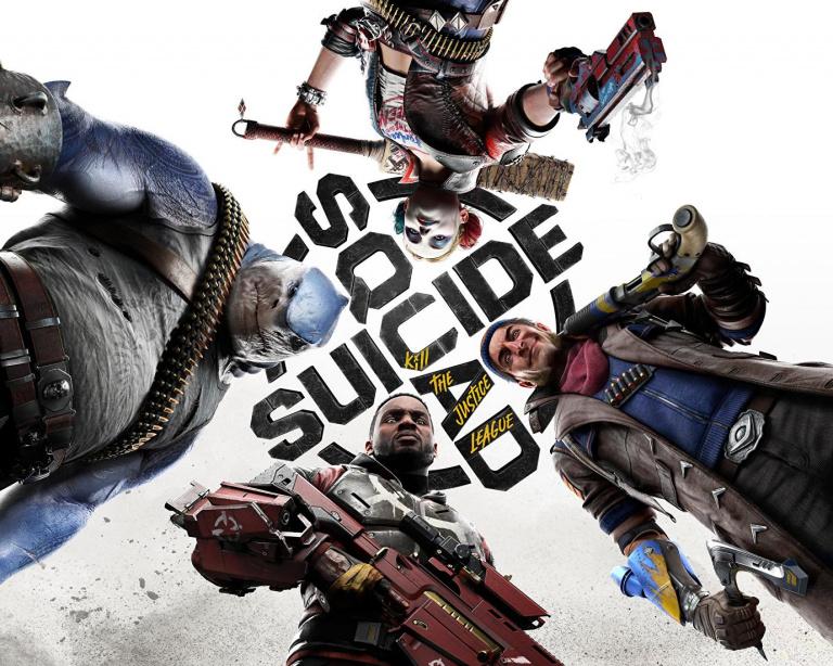 Suicide Squad Kill The Justice League : un artwork inédit met en scène les quatre anti-héros avant le DC FanDome