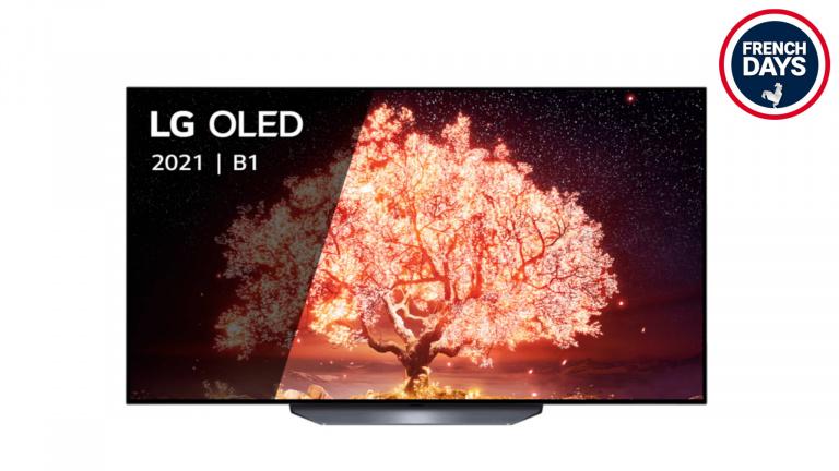French Days : La nouvelle TV 4K LG OLED 55B1 à 949€ !