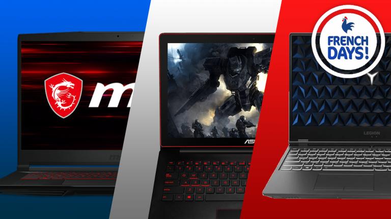 PC portables gamer : dernières heures pour profiter de ces 5 offres French Days