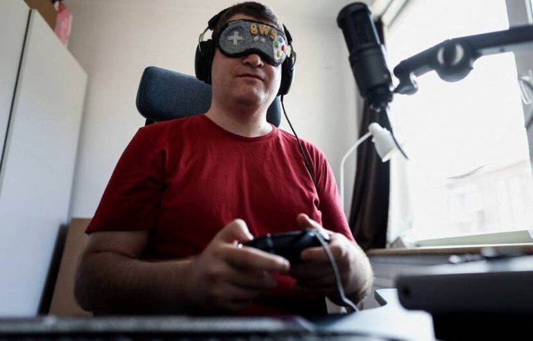 Le joueur aveugle de Street Fighter V que vous ne battrez jamais