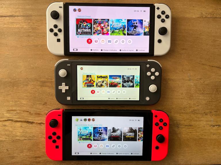 Nintendo Switch, OLED et Lite : laquelle est faite pour vous ?