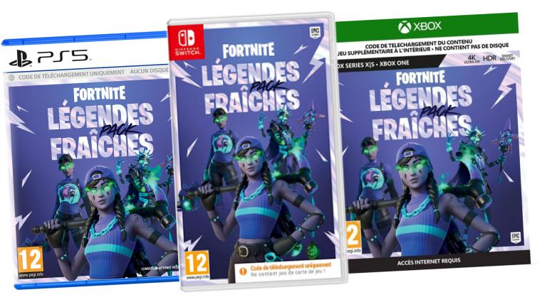 Fortnite Légendes Fraîches : les précommandes au meilleur prix sur PS5, PS4, Xbox et Switch !