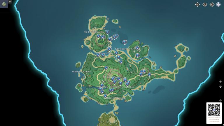 Genshin Impact 2.2, où trouver les champignons fluorescents et les serres dissimulées ?