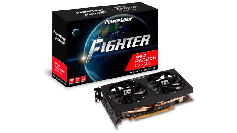 Radeon RX 6600 : la nouvelle carte graphique d'AMD en stock