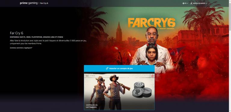 Far Cry 6, récompense Prime Gaming : comment l'obtenir ?