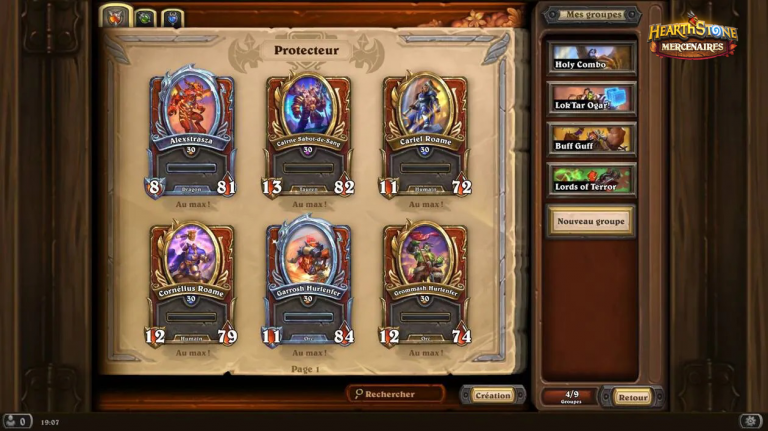 Hearthstone Mercenaries: How to level up quickly?