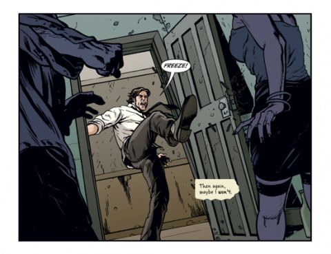 The Wolf Among Us adapté en comics
