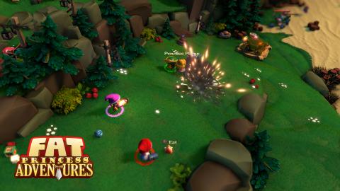 Fat Princess Adventures - Premières impressions manette en mains sur le retour des princesses boulimiques