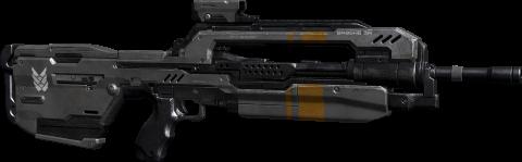 Le Fusil de combat, ou BR (Battle Rifle)
