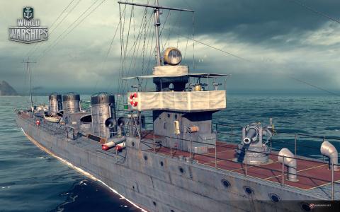 World of Warships : Une première vidéo de gameplay et des images