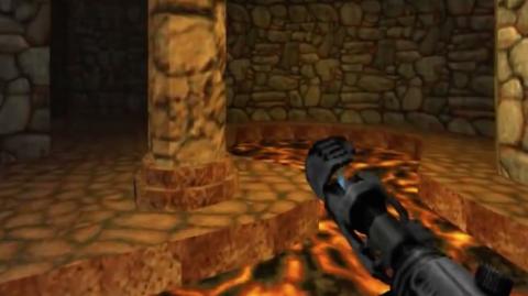 Jaquette de Hypertension : Harmony of Darkness du FPS à l'ancienne sur Dreamcast