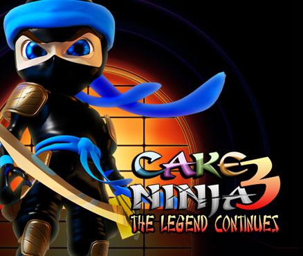 Cake Ninja 3 : The Legend Continues sur WiiU