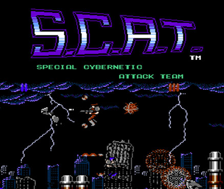 S.C.A.T. : Special Cybernetic Attack Team sur 3DS