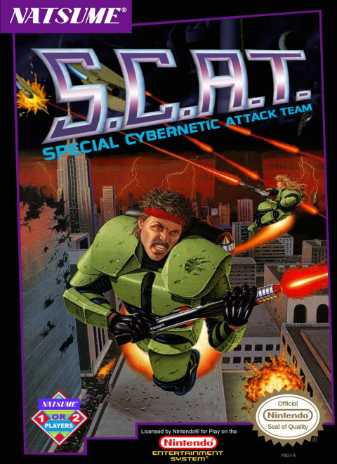 S.C.A.T. : Special Cybernetic Attack Team sur Nes