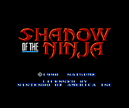 Shadow of the Ninja sur 3DS