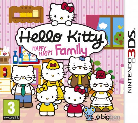 Hello Kitty Happy Happy Family sur 3DS