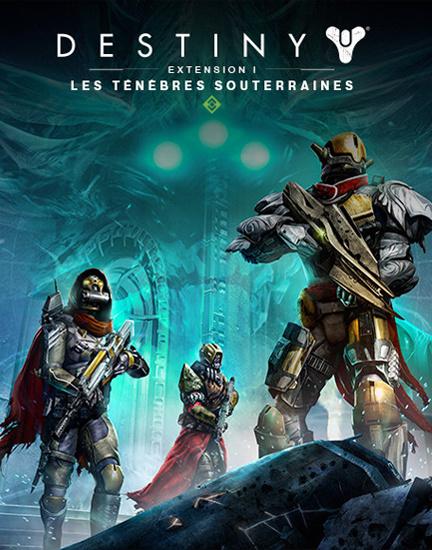 Destiny Extension I : Les Ténèbres Souterraines sur PS4
