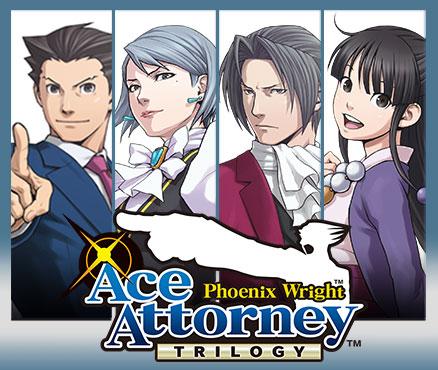 Phoenix Wright : Ace Attorney Trilogy sur 3DS