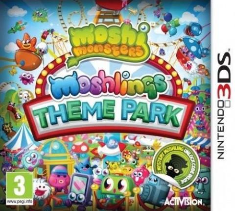 Moshi Monsters : Moshlings Theme Park sur 3DS