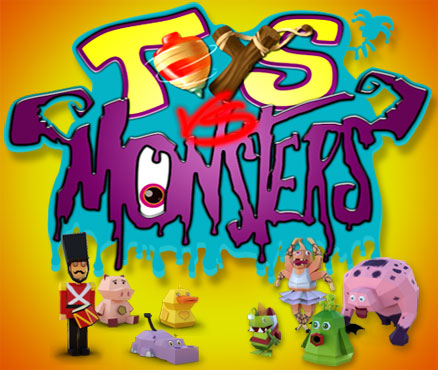 Toys vs Monsters sur 3DS