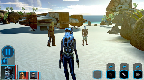 Star Wars Knights of the Old Republic : La marche impériale du Mobile