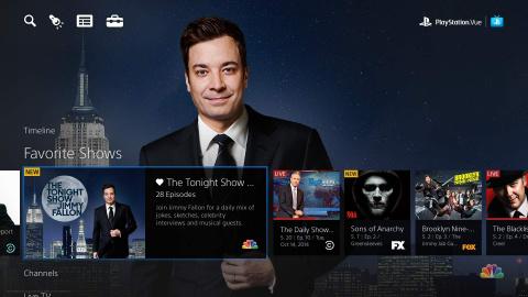 PlayStation Vue : La TV en cloud de Sony en début d'année