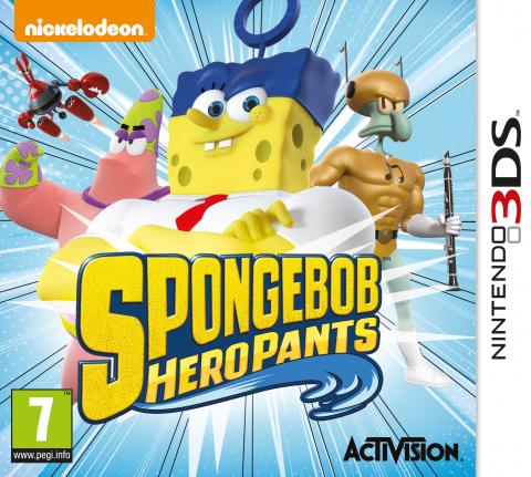 SpongeBob HeroPants sur 3DS
