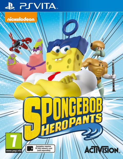 SpongeBob HeroPants sur Vita