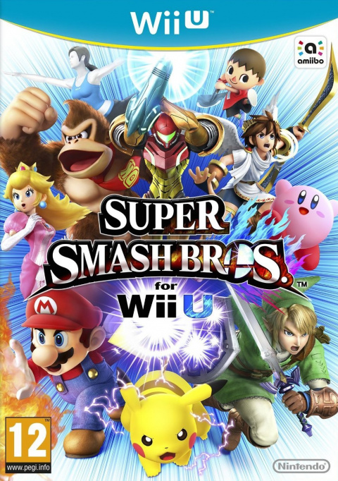 Jaquette de Super Smash Bros. for Wii U
