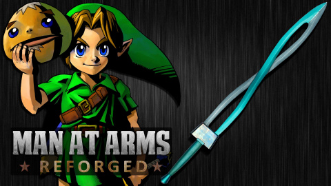 Man At Arms : L'épée de Majora's Mask à portée de main