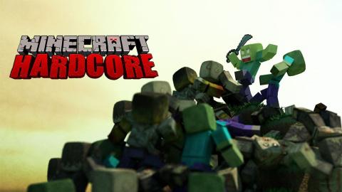 Minecraft Hardcore - Saison 14 - Episode 8 : Virée dans le Nether