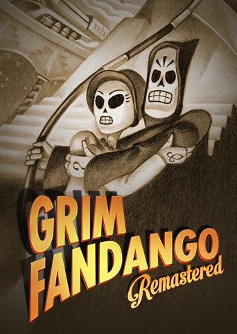 Jaquette de Grim Fandango Remastered