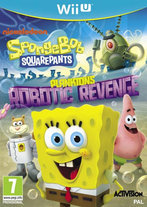 Bob l'Eponge : La Vengeance Robotique de Plankton sur WiiU