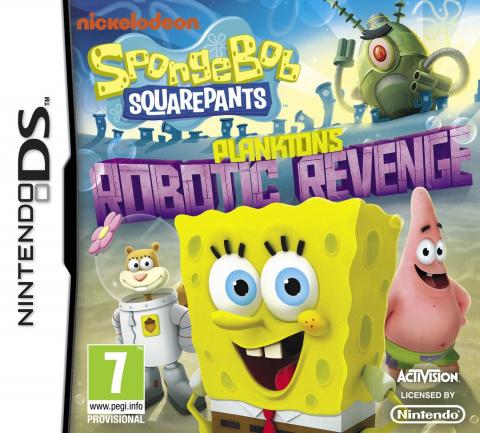Bob l'Eponge : La Vengeance Robotique de Plankton sur DS