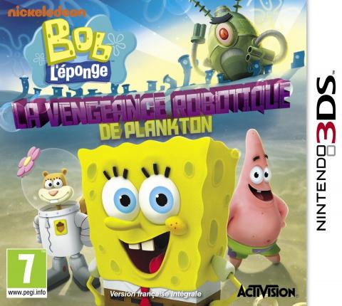 Bob l'Eponge : La Vengeance Robotique de Plankton sur 3DS