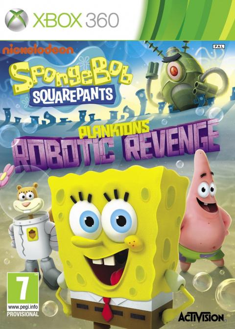 Bob l'Eponge : La Vengeance Robotique de Plankton sur 360