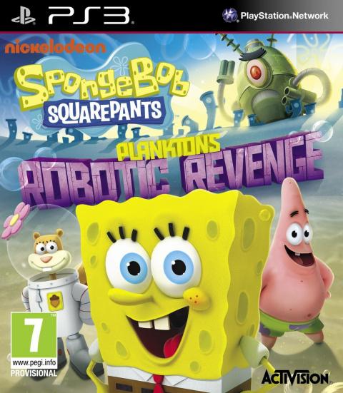 Bob l'Eponge : La Vengeance Robotique de Plankton sur PS3