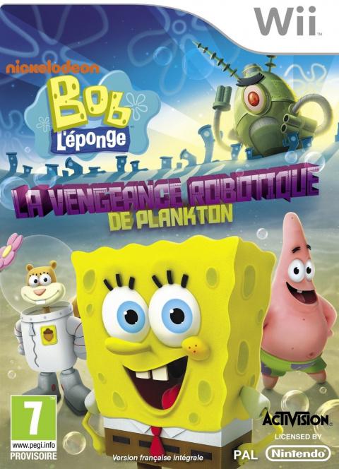 Bob l'Eponge : La Vengeance Robotique de Plankton sur Wii