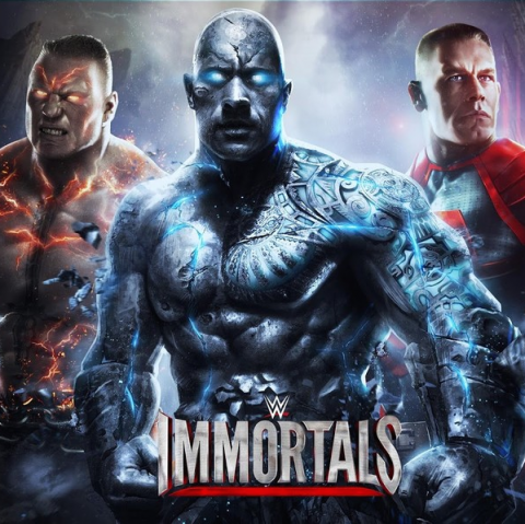WWE Immortals sur Android